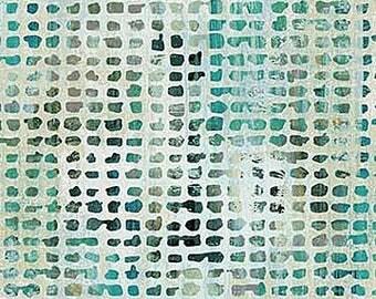 Half Yard City Scene Urban Oasis Tiles Fabric Quilting Cotton Northcott