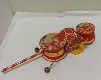 Japanese child's hand drum