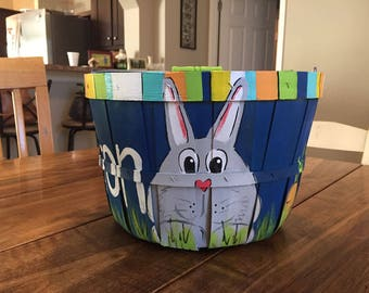Personalized Easter Basket - boy