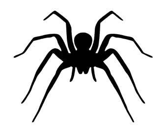 Spider SVG Digital Download - spider graphic - digital download spider vector graphic