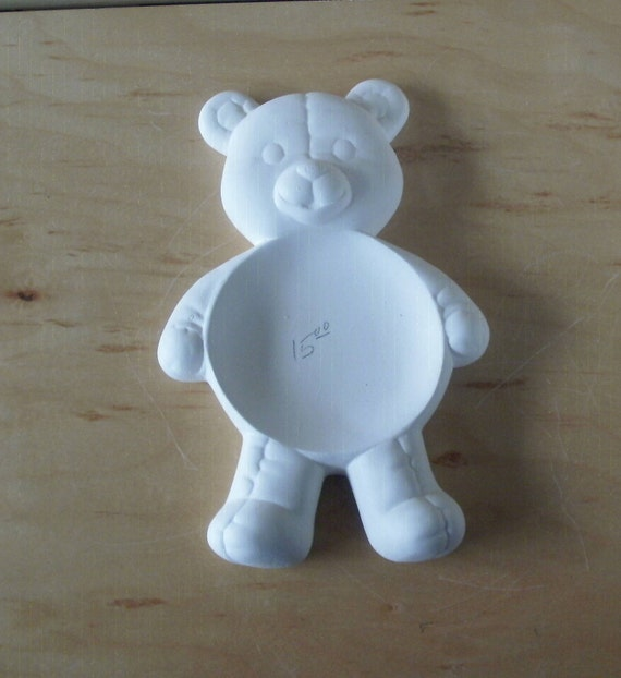 Ready To Paint Teddy Bear Kitchen Decoration DIY Kitchen Decor
