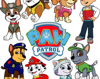 Paw Patrol SVG files
