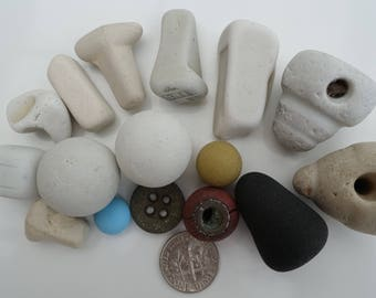 English sea glass - A collection of beach finds