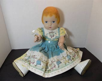 1991 Daisy Kingdom Collector Doll Baby Doll  Girl Toy