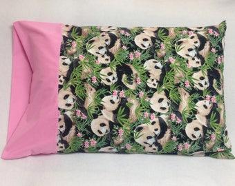 Panda Standard Pillowcase