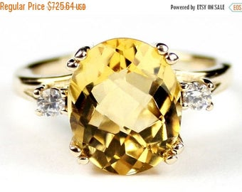 On Sale, 30% Off, Citrine, 14Ky Gold Ring, R150