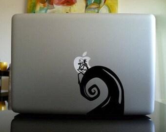 """13"""" Apple Macbook Nightmare Before Christmas Decal"""