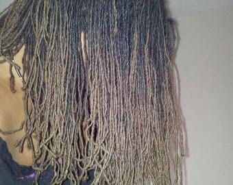 Human hair dreadlock extensions packbundle of 10 locs micro sisterlocs human hair dreadlock extensions packbundle of 10 locs pmusecretfo Images