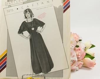 Caftan  - Pattern 5215  - Vintage Sewing Pattern  - Vintage Stretch & Sew Pattern  - 1980 Pattern  - Ann Person
