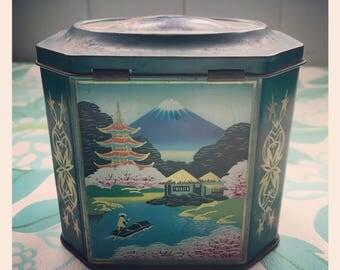Vintage Japanese Style Tin