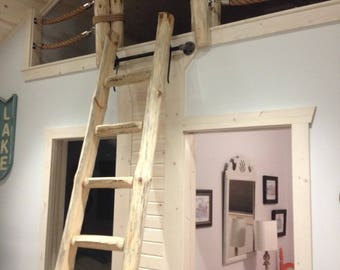 Library Loft Ladders - BY THE STEP - Custom Made to fit perfectly!