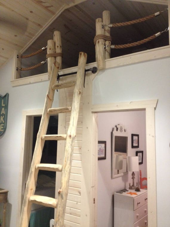 Library Loft Ladders By The Step Custom Made To Fit