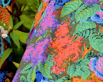 Lilac Moss PWPJ068.MOSSX Philip Jacobs Kaffe Fassett Collective Classics Free Spirit Fabric
