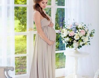 Maternity  dress, Baby shower dress, maternity dress for photoshoot,romantic maternity dress