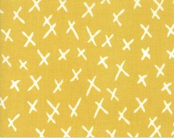 Savannah - XMarks Citrine by Gingiber for Moda, 1/2 yard, 48224 18