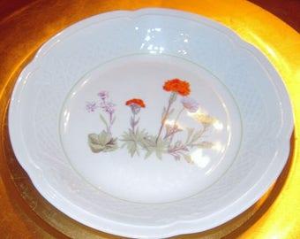 LOUIS LOURIOUX wild flower  Soup/Cereal bowl