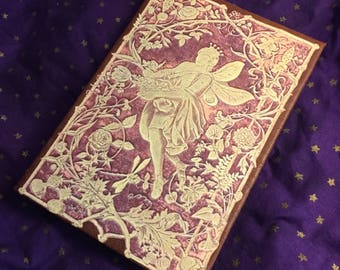 """Fairy Tale Antique Book Cover for iPad mini and other 6""""-8"""" tablets"""