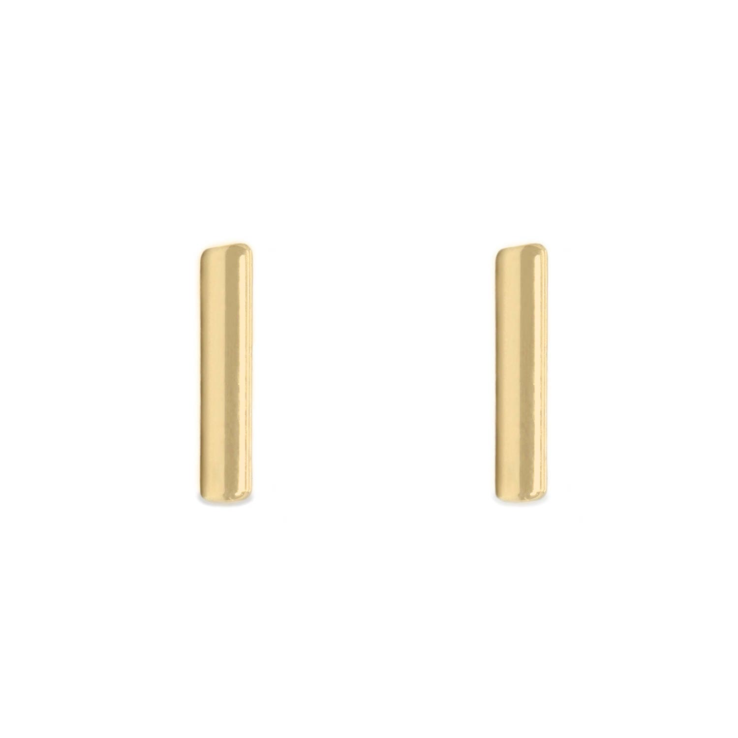 small earring bar p elegant fullxfull il post stud gold