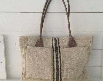 Grain Sack Handbags