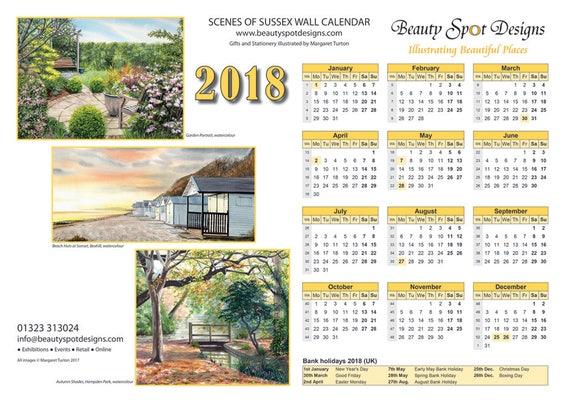 2018 Wall Calendar Download
