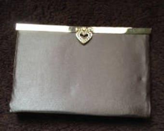 Charcoal grey purse