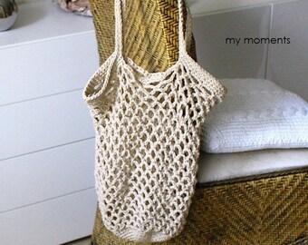 Shopping Bag Cotton beige
