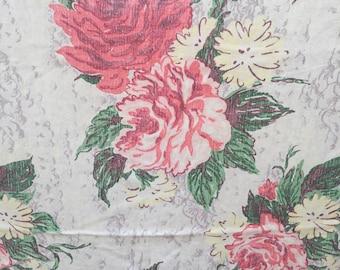 Vintage Fabric, Romantic Flora Curtains , cutters