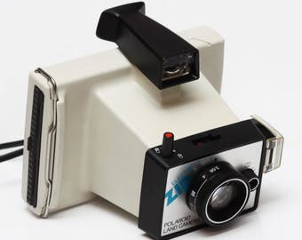 Polaroid Electric Zip Instant Film Land Camera Made in USA 1970s