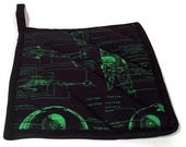 Star Wars Quilted Pot Hol...