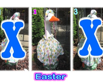 """Large Lawn Goose Outfits (25"""" - 27"""" Tall)"""