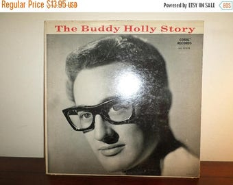 Save 30% Today Vintage 1966 Vinyl LP Record The Buddy Holly Story Very Good Condition 11209