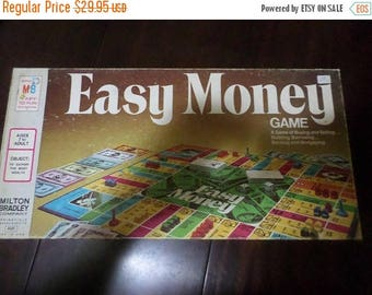 Save 25% Now Vintage 1974 Board Game Easy Money Milton Bradley 4620 100 Percent Complete Excellent Condition