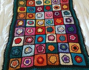 Colourful Retro Blankets