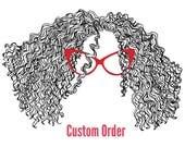 Rabbit Pin, Custom order