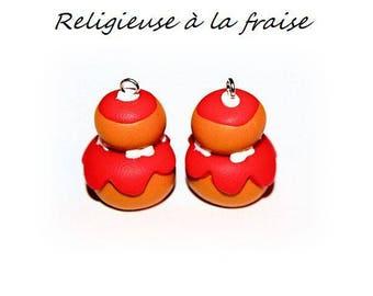 X 1 religious cherry fimo