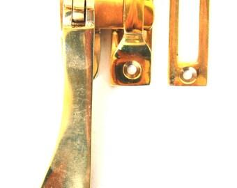 Lovely Brass Window Casement Lock Latch Set with Flat Handle