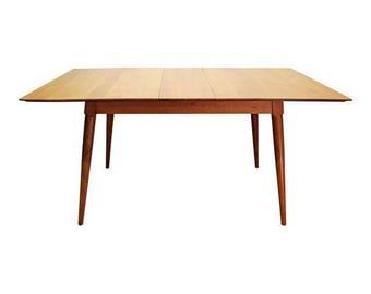 Mid-Century Danish Modern Paul McCobb Planner Group Extension Dining Table