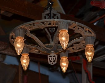 Antique Art Deco Ceiling Lamp