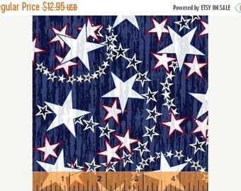 Anniversary Sale Liberty Stars~Red White Blue, Cotton Fabric Patriot,Windham Fabrics, Fast Shipping N428
