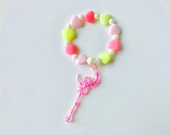 Pastel Magic Wand Kawaii Kandi Singular Bracelet