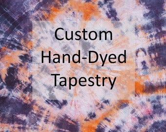 Custom Hand-Dyed Tapestry