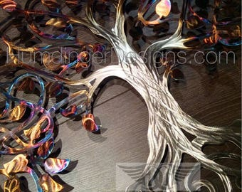 Tree of Life Wall Decor Metal Wall Sculpture