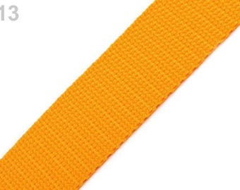013 - Apricot orange strap 30 mm polypropylene