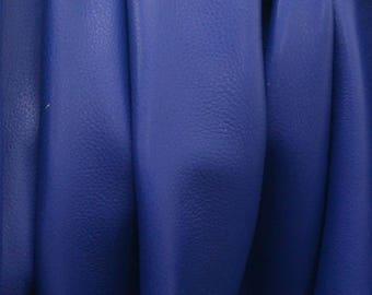 "Regal Royal Blue ""Signature"" 21.3 Square Foot 2 1/2 oz Leather Cow side BR-63856 (Sec. 9,Shelf 2,A)"
