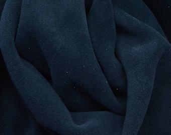 """Bakersfield Navy Blue """"Cali"""" 4.1 Sq Ft 3 1/2-4 oz Leather Cow Project Piece DE-66070 (Sec. 2,Shelf 1,B)"""