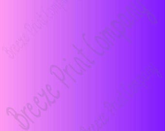Pink and purple Ombre print craft  vinyl sheet - HTV or Adhesive Vinyl -  gradient print vinyl  HTV3121