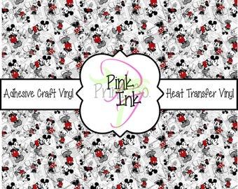 Disney Inspired Craft Vinyl and Heat Transfer Vinyl Pattern Disney 7