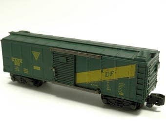 Vintage American Flyer 922 GAEX Box Car Rolling Stock S-Scale