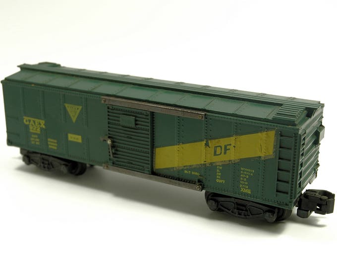 Featured listing image: Vintage American Flyer 922 GAEX Box Car Rolling Stock S-Scale