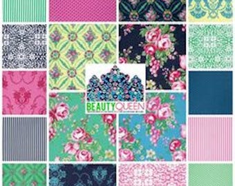 Beauty Queen by Jennifer Paganelli   Fabric Bundle
